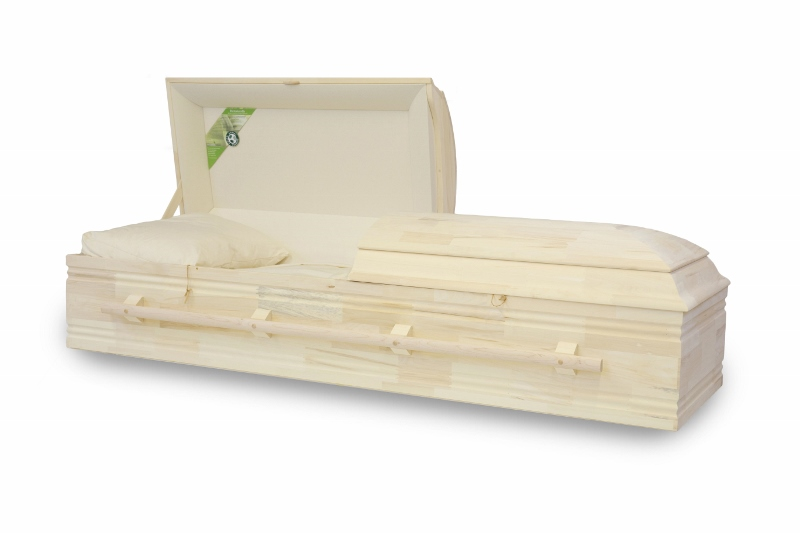 Caskets, Wood/Metal/Cloth, Green Products, Low Prices - Trail
